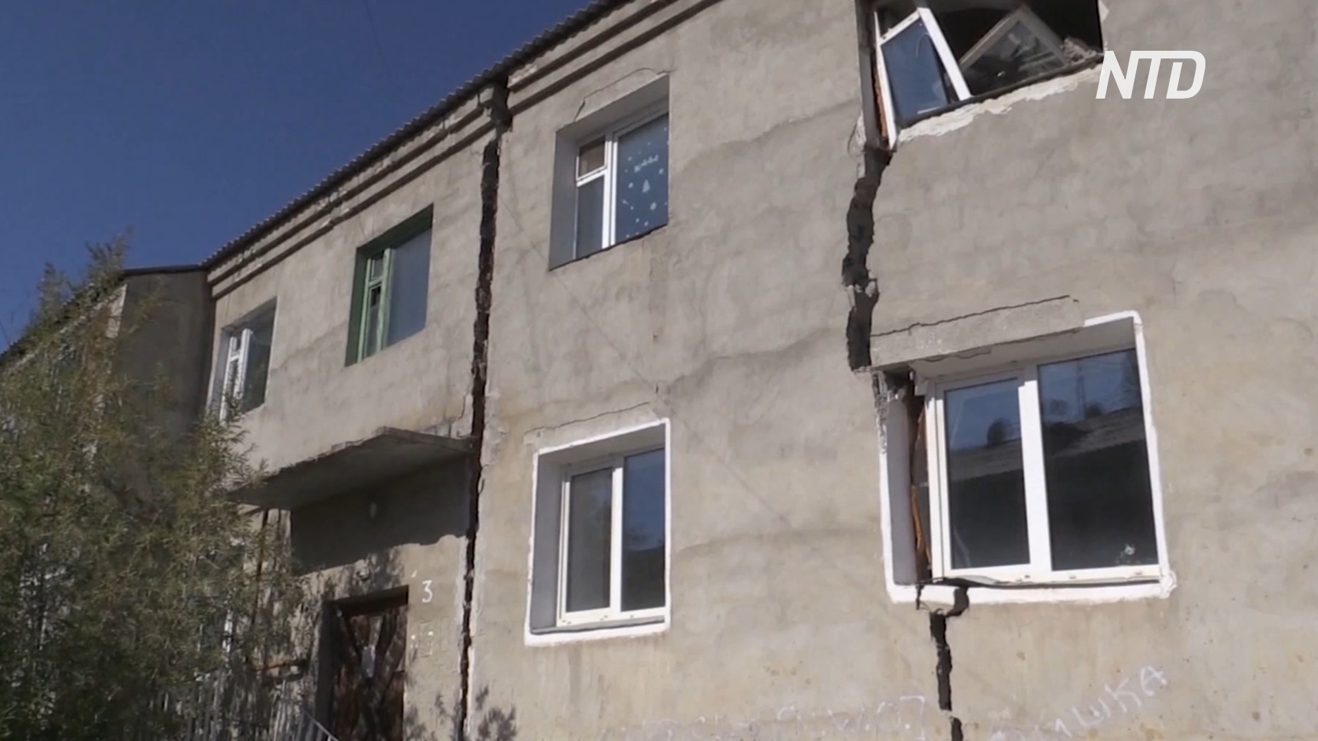 Трещины в стенах: таяние вечной мерзлоты в Якутии грозит катастрофой