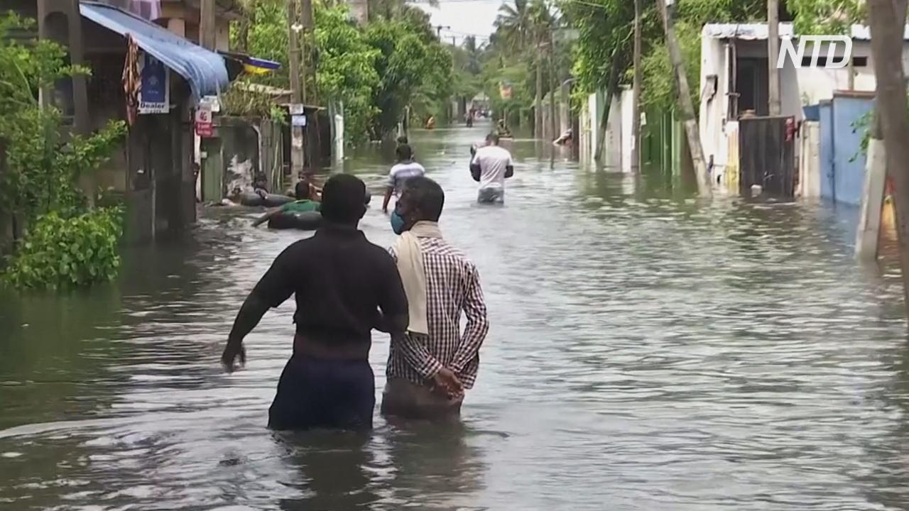 Наводнения и оползни на Шри-Ланке: более 10 погибших