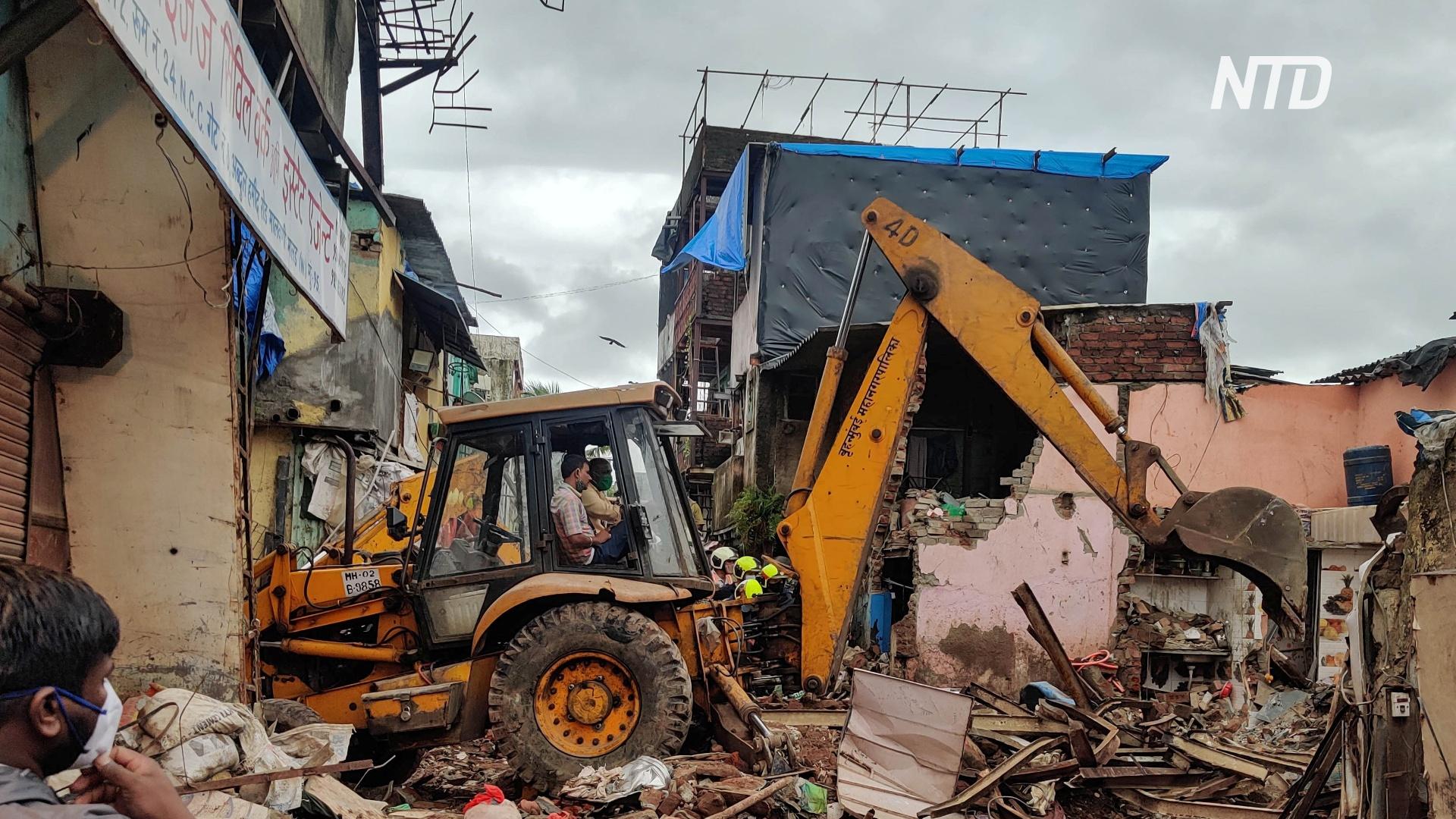 В Мумбаи рухнул жилой дом: 11 погибших