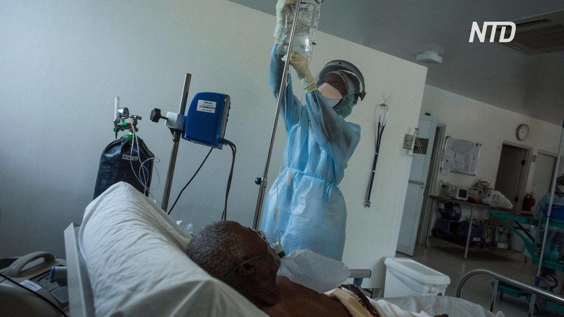 Не хватает коек: на Гаити новая вспышка коронавируса