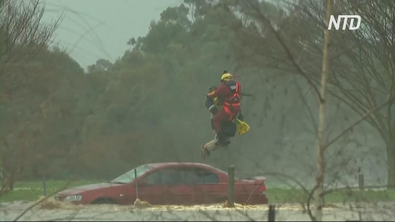 Наводнения и снегопады: на восток Австралии обрушились природные катаклизмы