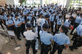 В Гонконге арестовали пятерых директоров продемократической газеты Apple Daily