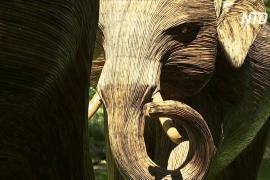 Городское сафари: в лондонских парках появилось 100 фигур слонов