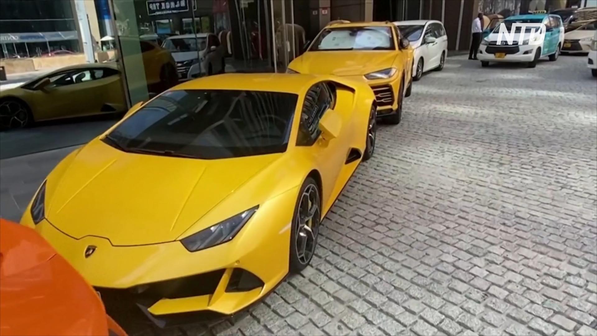 Студенты автошколы в Дубае учатся на Range Rover, Tesla и Mercedes