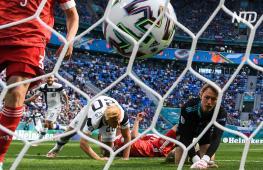 Евро-2020: Россия обыграла Финляндию, Италия вырвала победу у Швейцарии