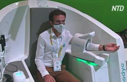 Роботы-помощники и станции медосмотра: в Париже прошла выставка