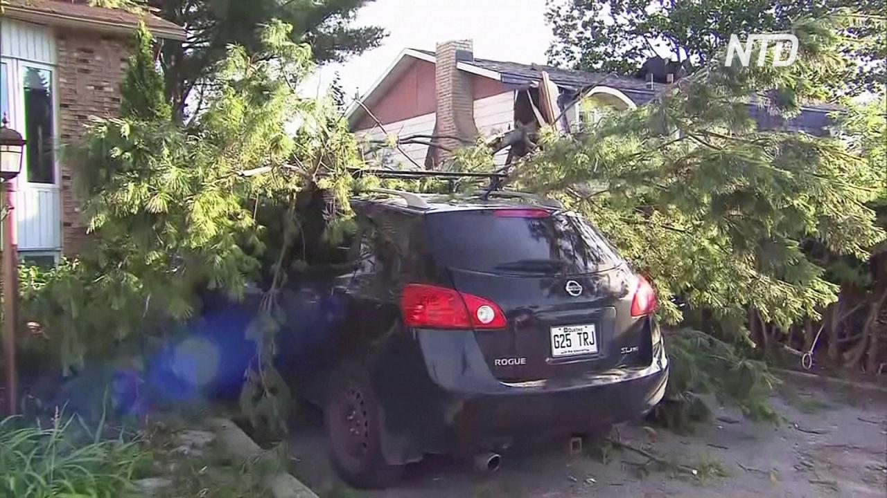 В пригороде Монреаля пронёсся торнадо: один погибший
