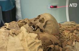 Как мумию изучали с помощью компьютерной томографии