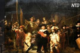 Рейксмюсеум восстановил утраченные фрагменты «Ночного дозора» Рембрандта