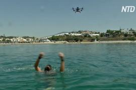 Дроны стали правой рукой испанских спасателей на воде
