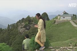 В индийский штат Химачал-Прадеш возвращаются туристы