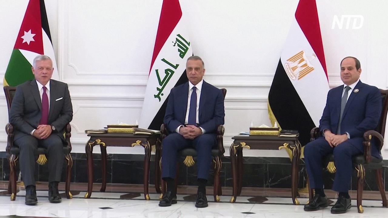 Президент Египта впервые за 30 лет приехал в Ирак