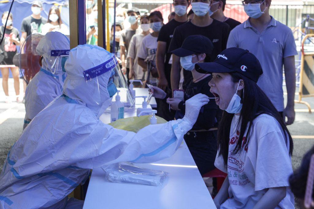 В деревне под Пекином серьёзная вспышка COVID?