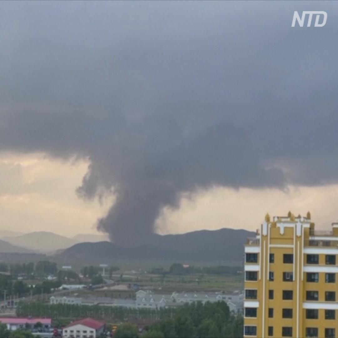 Торнадо в китайской провинции Хэйлунцзян: один погиб, 16 пострадали