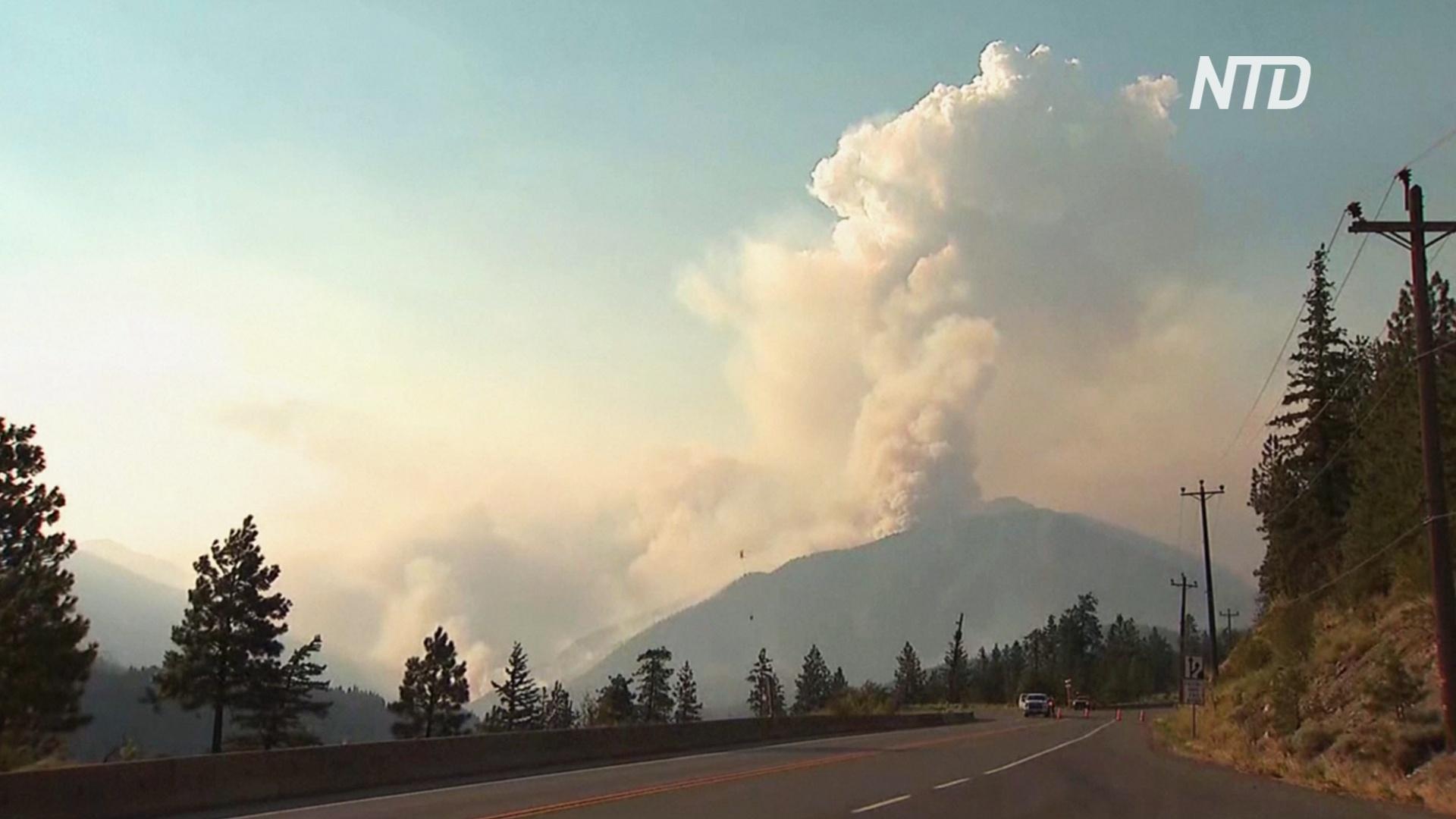 В Канаде полыхает около 200 лесных пожаров