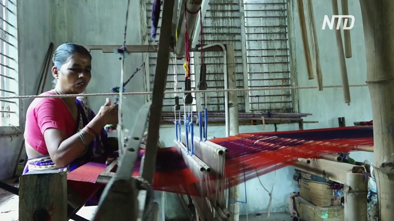 Индийские ткачи с трудом выживают из-за карантинных ограничений