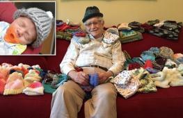 Зачем дедушка научился вязать в 86 лет