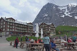 Швейцария надеется на европейских туристов из-за нехватки азиатских