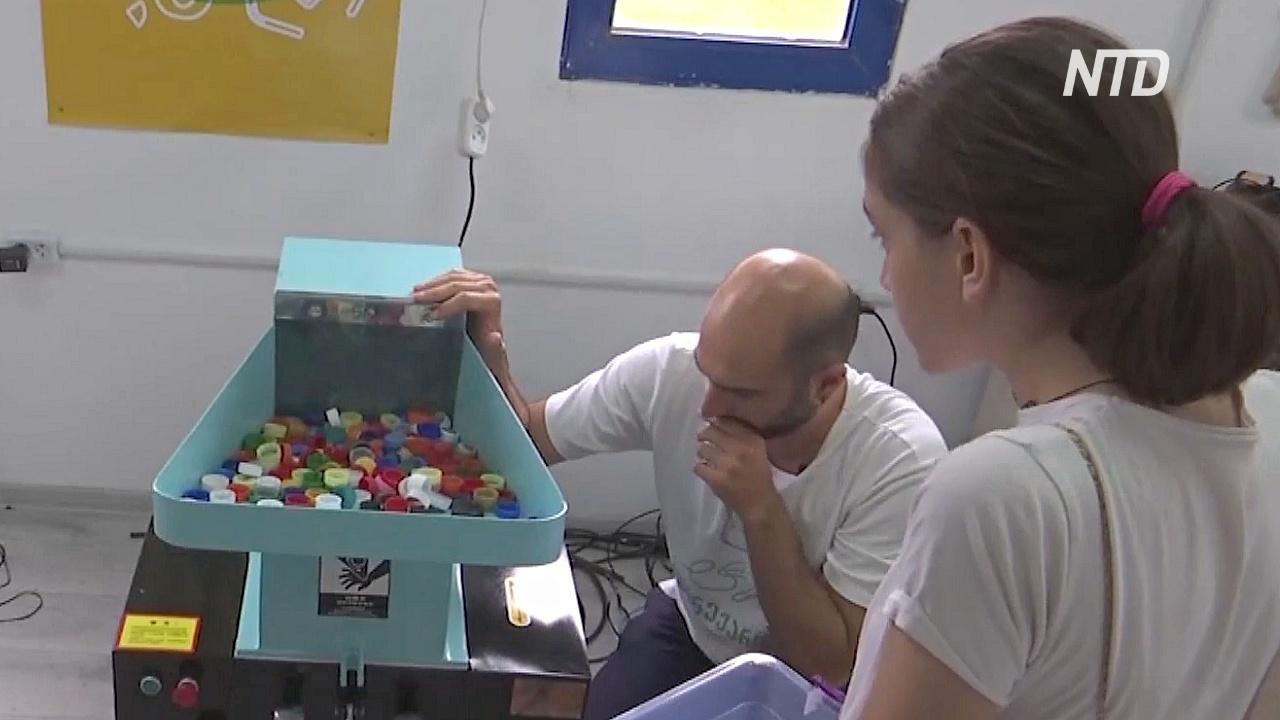 Грузинский стартап делает USB-кабели из крышек от бутылок