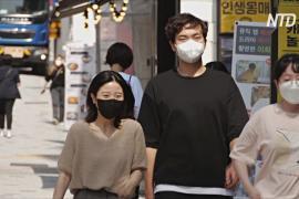 В Южной Корее самый высокий прирост заболевших COVID с декабря 2020 года