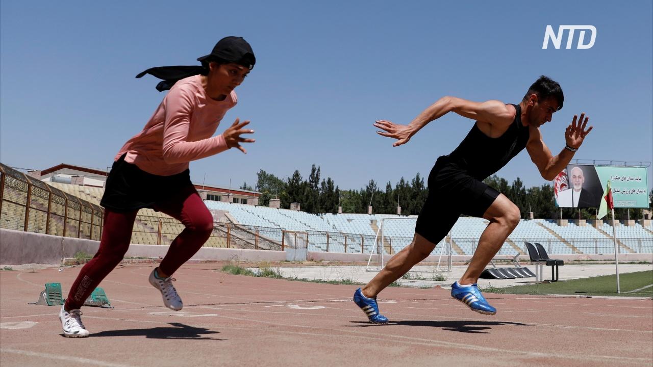 Поехать на Олимпиаду: два афганских спортсмена воплощают мечту