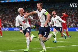 Англия впервые вышла в финал чемпионата Европы по футболу