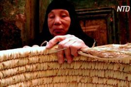 Плетение из пальмовых листьев позволяет хорошо зарабатывать целой египетской деревне