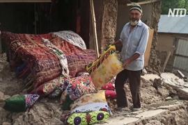 Пять человек погибли в результате землетрясения в Таджикистане