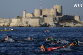 Во Франции проходит заплыв в стиле графа Монте-Кристо