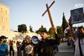 Тысячи греков вышли на протест против обязательной вакцинации