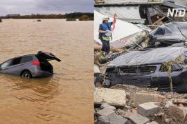 Не менее 48 погибших: Европу топят небывалые ливни