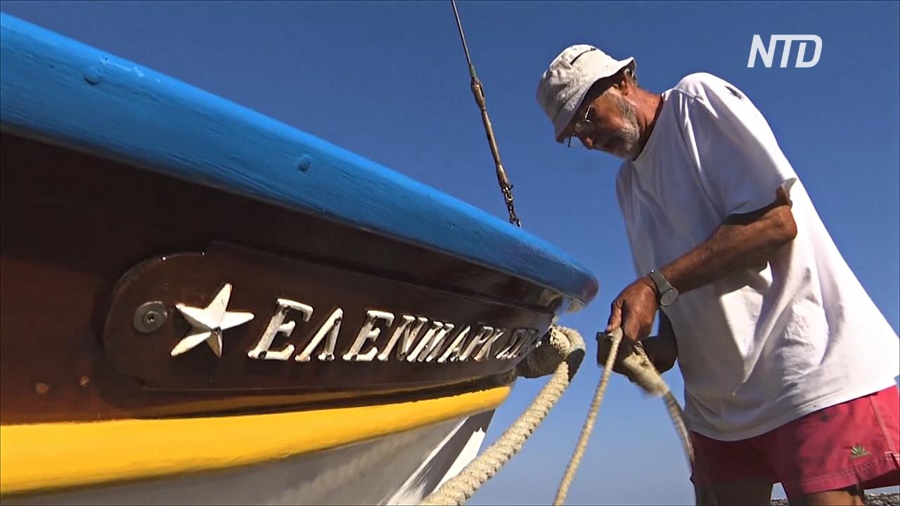 Производство деревянных лодок в Греции – умирающее ремесло