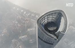 Самый высокий в мире отель открыли в Шанхайской башне