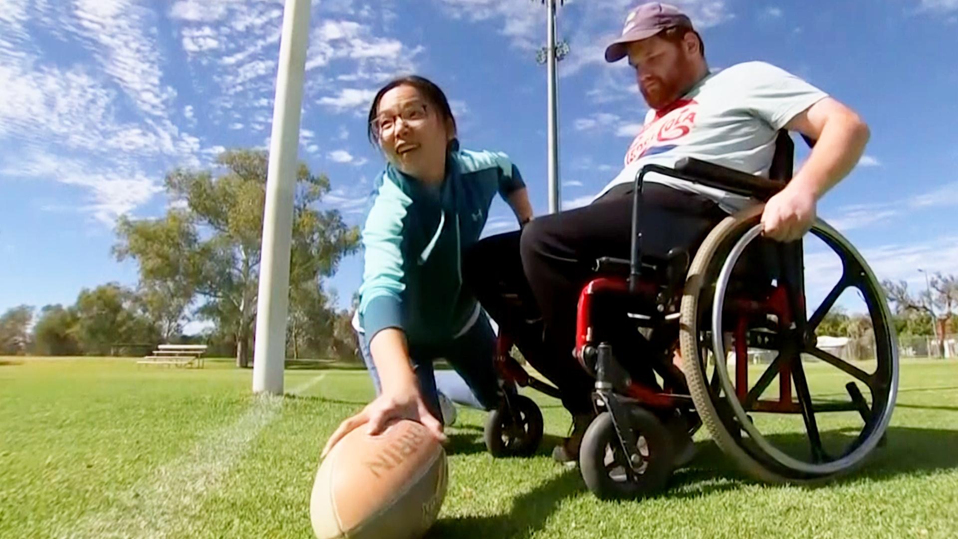 Футбол в инвалидном кресле: как в Австралии поддерживают спортом