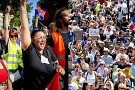 «Нет позорному пропуску и вакцинации»: в Греции и Франции протестуют против антиковидных мер