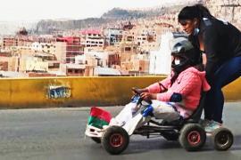 Как проходят гонки на самодельных картах в высокогорном Ла-Пасе