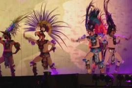 Уникальное ацтекское шоу: пляски под луной