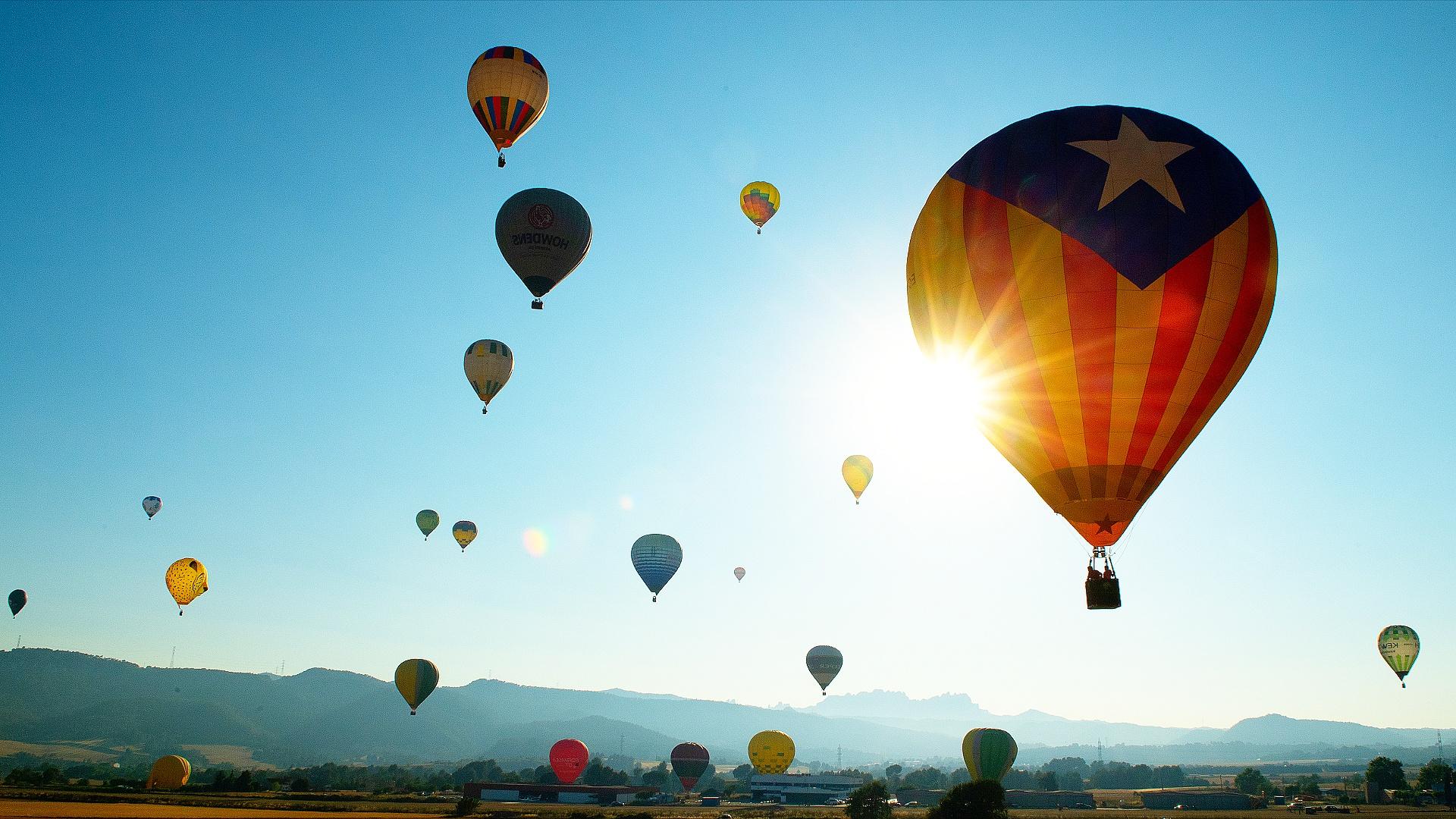 Фестиваль воздушных шаров прошёл в Нью-Джерси