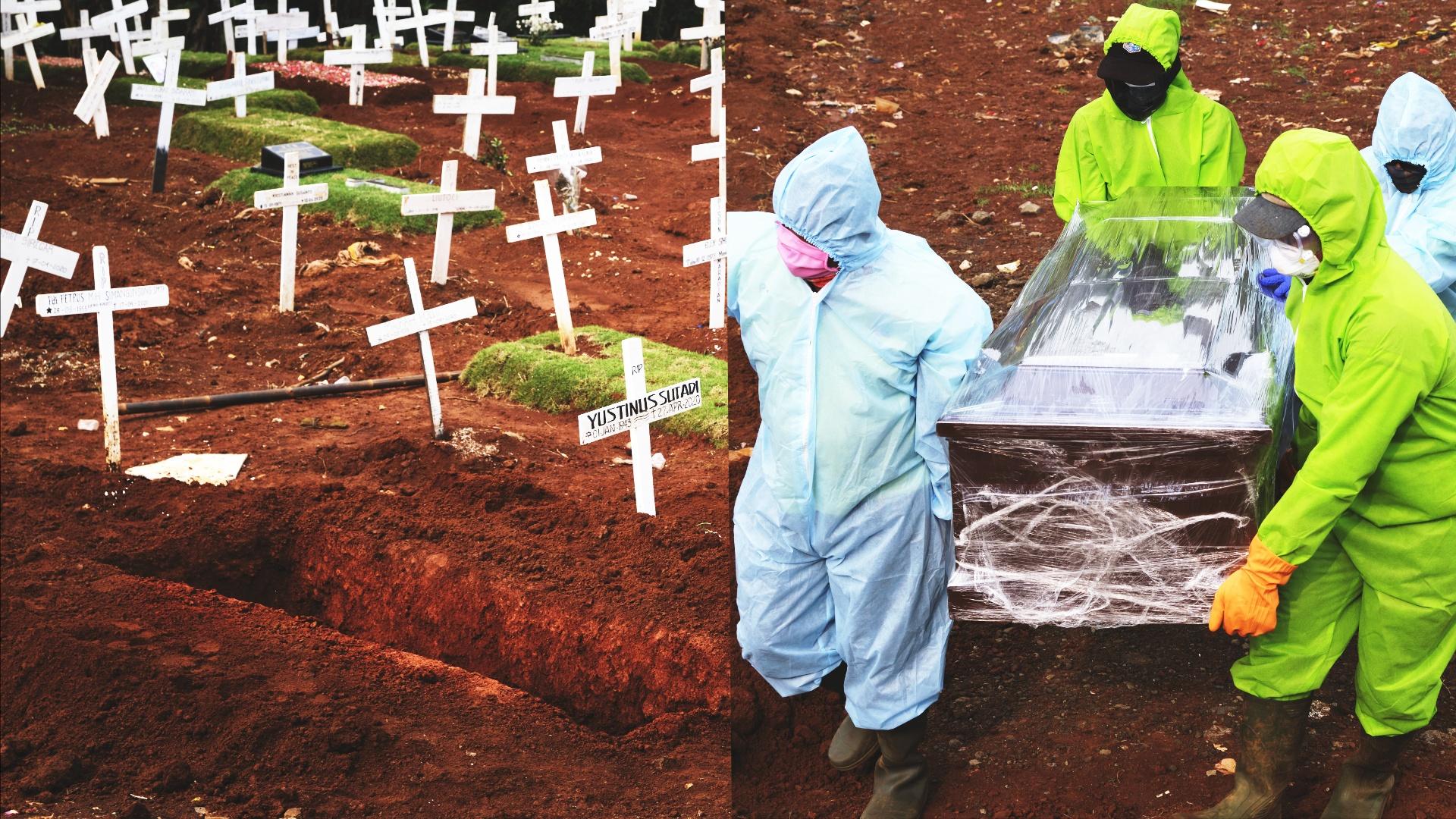 В Индонезии – рекордное количество смертей от COVID-19 за сутки