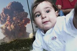 Родился во время взрыва в Бейруте: мальчик Джордж отмечает первый день рождения