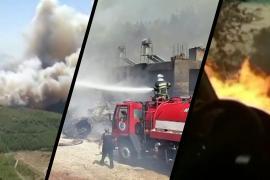 Под Антальей тушат масштабный лесной пожар