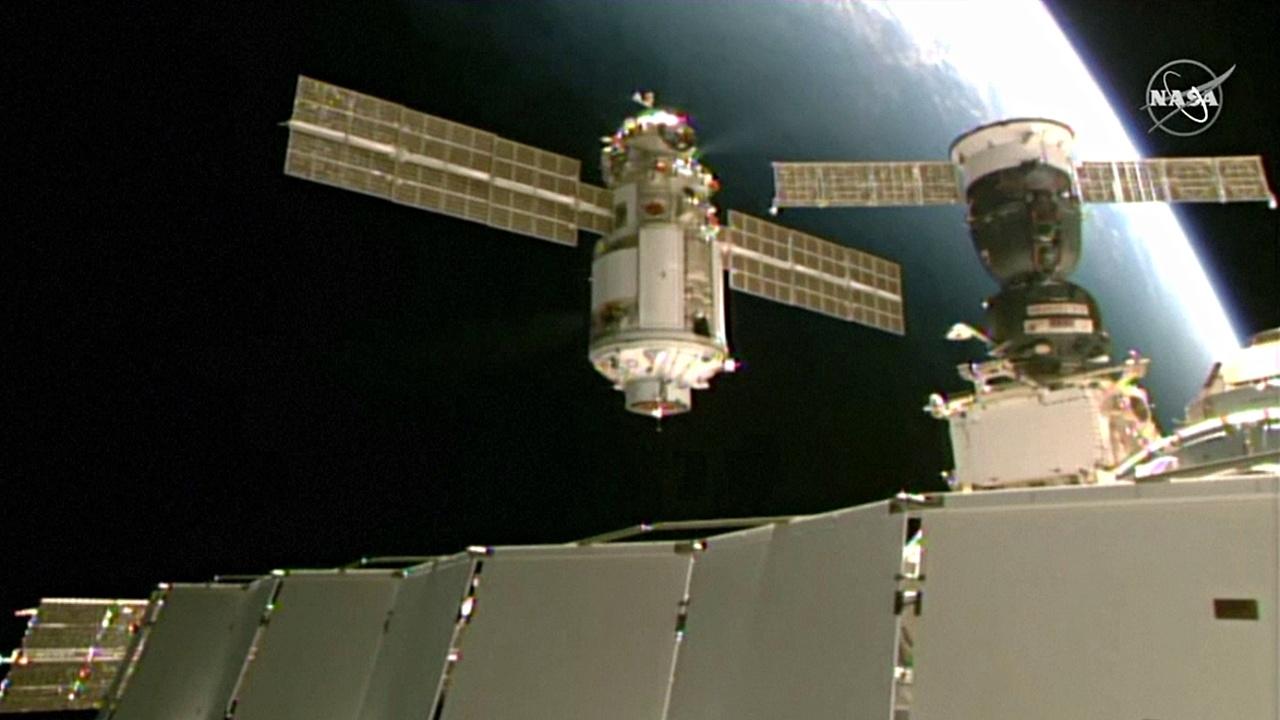 На модуле «Наука» нештатно включились двигатели после стыковки с МКС
