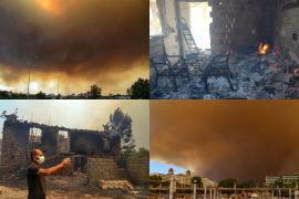 Четверо погибших: пожары в Турции подбираются к отелям и жилым домам
