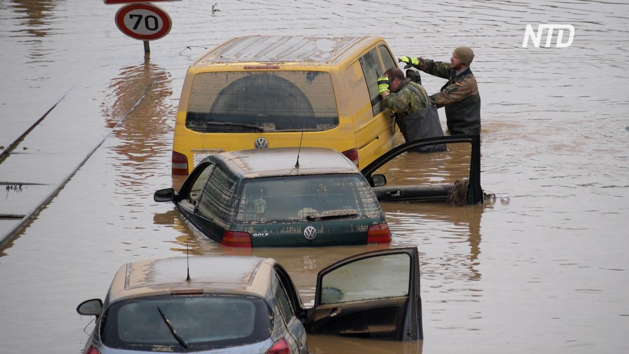 Наводнения в Европе: уже 188 погибших