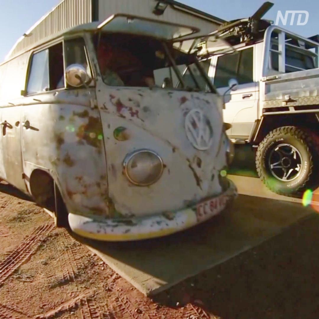 Австралийские мастера ищут брошенные авто в пустыне, чтобы их восстановить