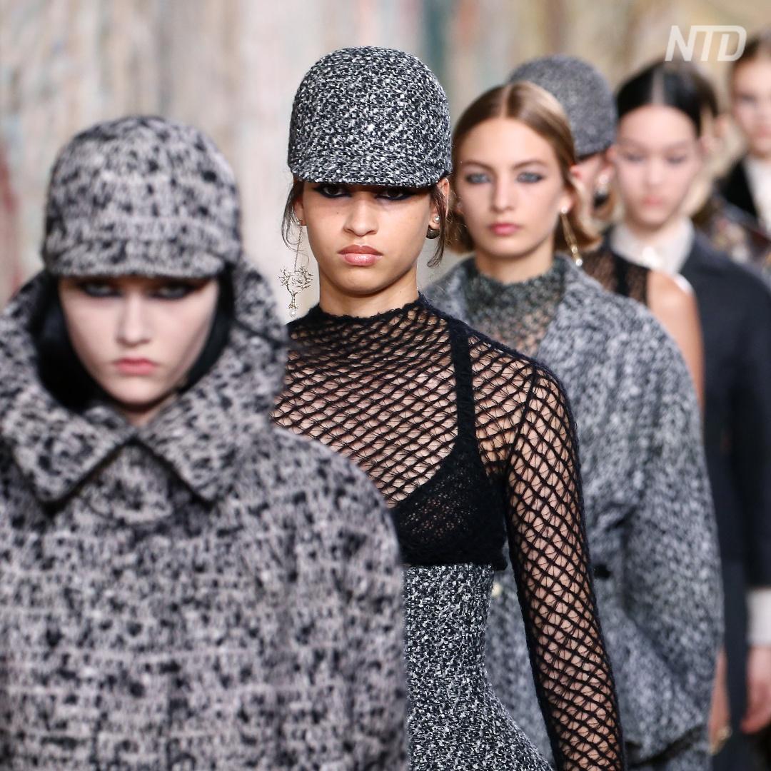 Первый после карантина живой показ Christian Dior