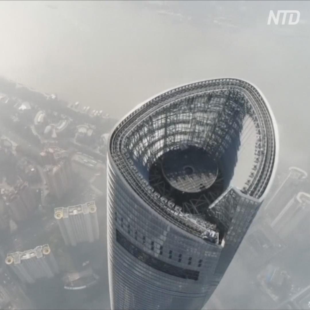 Самый высокий в мире отель открыли в Шанхае