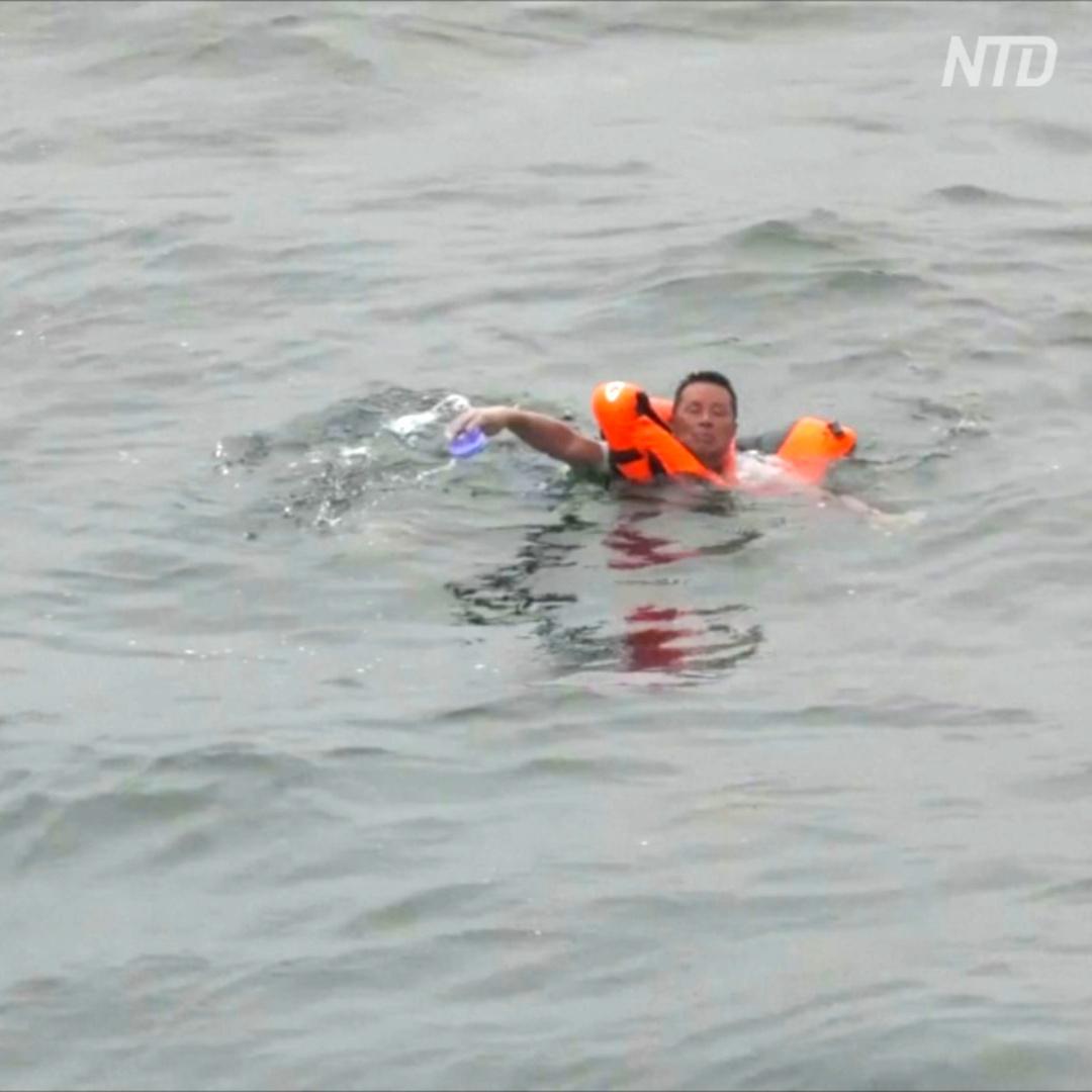 Двое суток в океане: у берегов Либерии спасли потерпевшего кораблекрушение