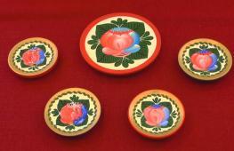 «Цветок дивной красоты»: как возрождают волховскую роспись