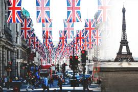 Великобритания смягчает карантин и открывается для французов